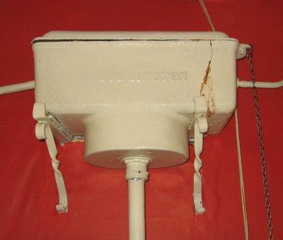 Limescale In Toilet Cistern