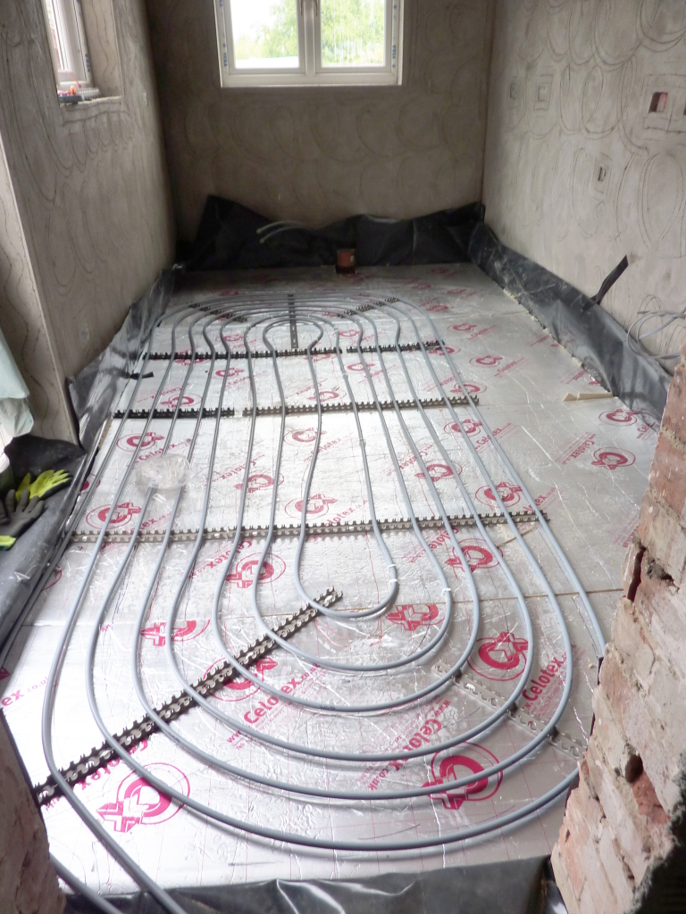 Putting pipes into a concrete floor UK? - Yahoo! UK & Ireland Answers